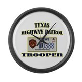 Texas state trooper Giant Clocks
