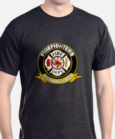 Firefighters Badge T-Shirt