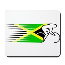 Track Cycling - Jamaica Mousepad