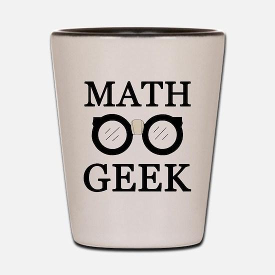 'Math Geek' Shot Glass