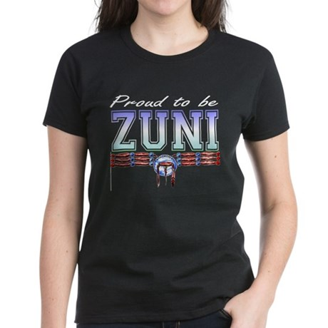 Proud to be Zuni Women's Dark T-Shirt
