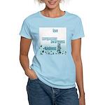 Kindness Matters Aqua Women's Light T-Shirt