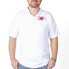 Track Cycling - UK T-Shirt