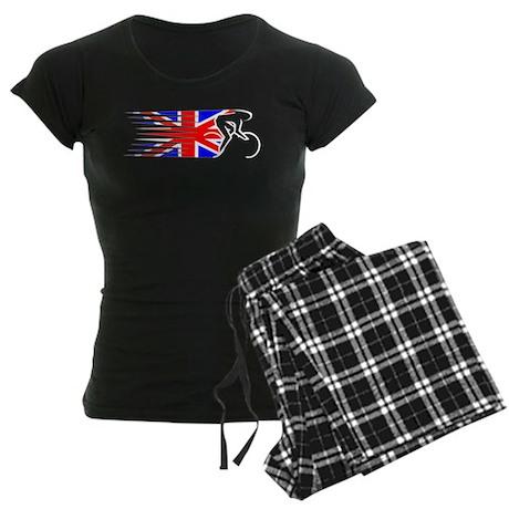 Track Cycling - UK Women's Dark Pajamas