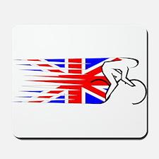 Track Cycling - UK Mousepad