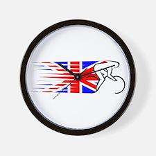 Track Cycling - UK Wall Clock