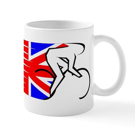 Track Cycling - UK Mug