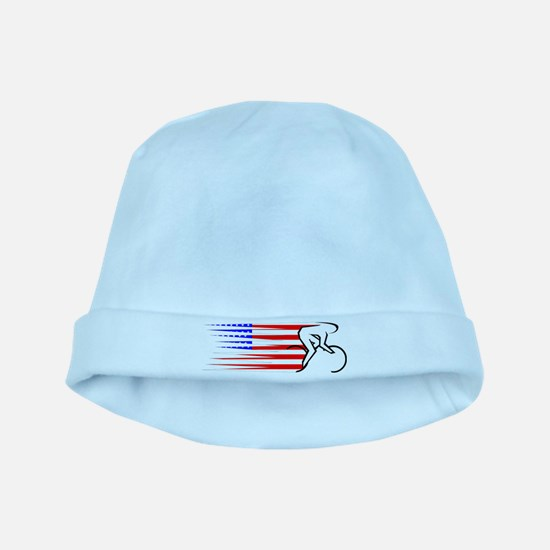 Track Cycling - USA baby hat