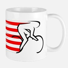 Track Cycling - USA Mug
