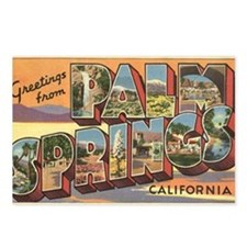 Greetings from Palm Springs Postcards (Package of
