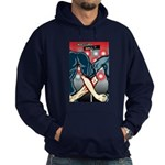 Occupy Wall St. Locked Arms Hoodie (dark)