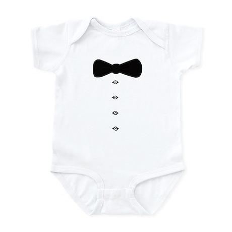 'Bow Tie Tux' Infant Bodysuit