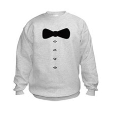 'Bow Tie Tux' Sweatshirt