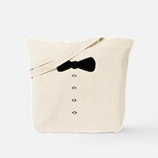 'Bow Tie Tux' Tote Bag