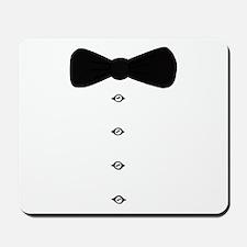 'Bow Tie Tux' Mousepad