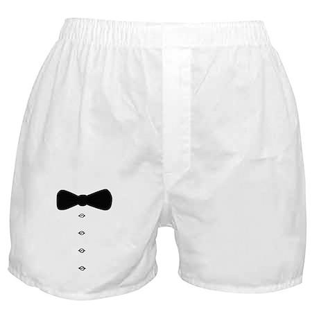 'Bow Tie Tux' Boxer Shorts