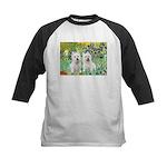 CUSTOM-Irises - 2 Westies Kids Baseball Jersey