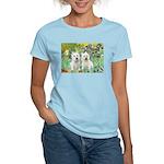 CUSTOM-Irises - 2 Westies Women's Light T-Shirt