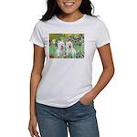 CUSTOM-Irises - 2 Westies Women's T-Shirt