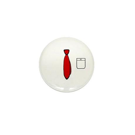 'Work Tie' Mini Button (10 pack)