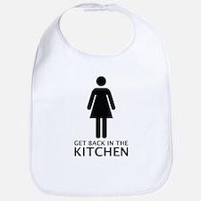 Get Back In The Kitchen Bib