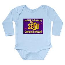 DEMAND OPEN SHOP Long Sleeve Infant Bodysuit