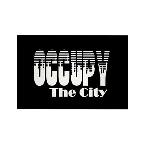Occupy The City: Rectangle Magnet (10 pack)