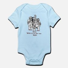 What Zombies Want Infant Bodysuit