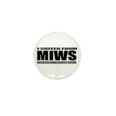 Irish Wolfhound Mini Button (10 pack)