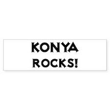 Konya Rocks! Bumper Car Sticker