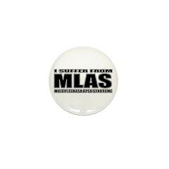 Lhasa Apso Mini Button (10 pack)