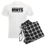 Welsh Terrier Men's Light Pajamas