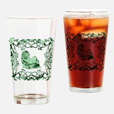 Shih Tzu Lattice Drinking Glass
