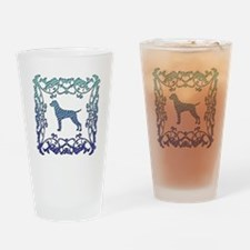 Vizsla Lattice Drinking Glass
