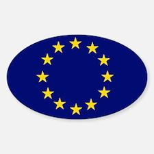 EU Oval Decal