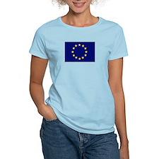 EU Women's Pink T-Shirt