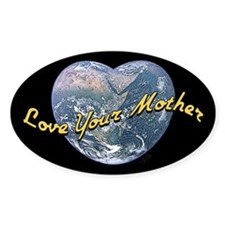 Love Mother Earth Night Decal