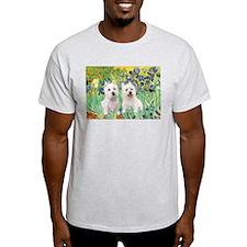 Irises-Westies 3and11 T-Shirt
