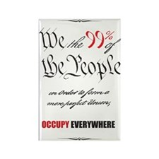 We the 99% Rectangle Magnet