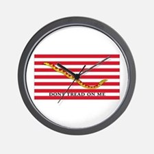 DONT TREAD  Wall Clock