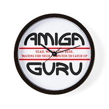Amiga Guru Wall Clock