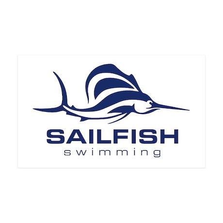 SAILFISH 38.5 x 24.5 Wall Peel