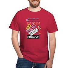 Follow Me-Black Friday T-Shirt