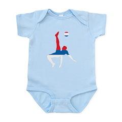 Serbia Soccer Infant Bodysuit