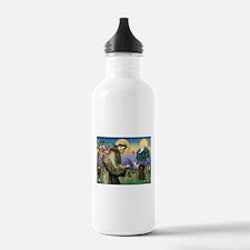 St. Francis & Affenpinscher Water Bottle