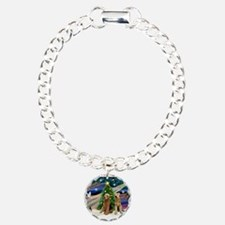 Xmas Magic-Airedale Pair Bracelet