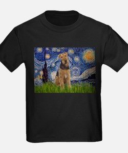 Starry Night Airedale (1) T