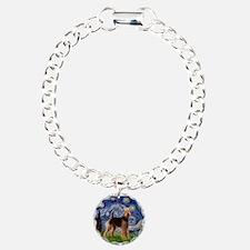 Starry Night Airedale (1) Bracelet