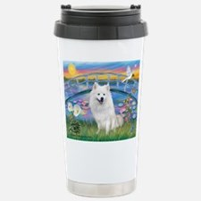 Lily Pond (JF) / Eskimo Stainless Steel Travel Mug