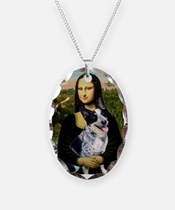 Mona Lisa/Cattle Dog Necklace